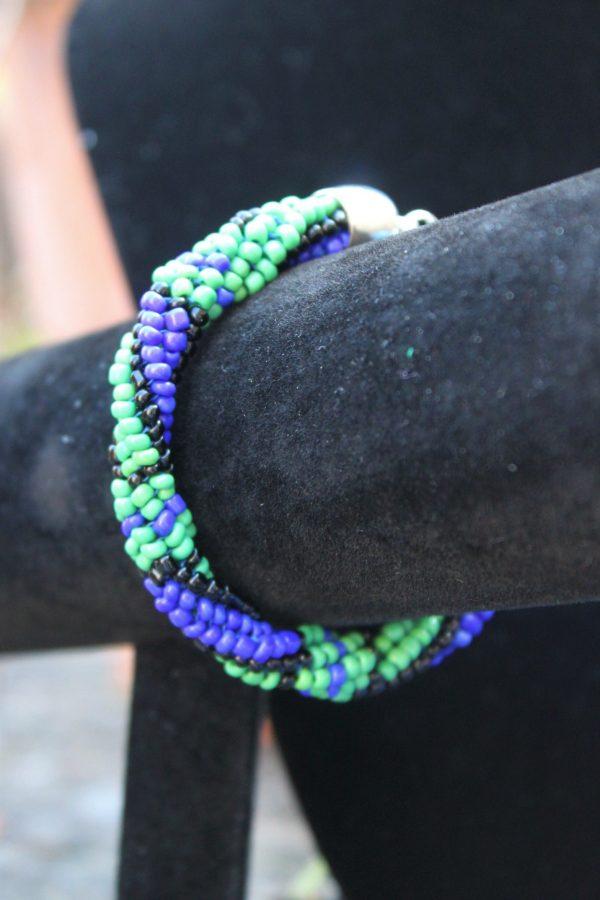 Blackwatch Beaded Bracelet