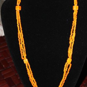 Handcrafted in Scotland Limited Edition Beaded Necklace 1