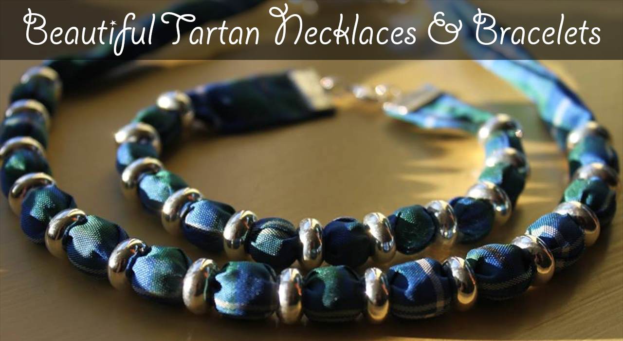 tartan Necklaces & Bracelets