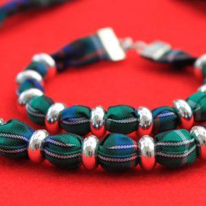 MacKenzie Tartan Necklace & Bracelet set